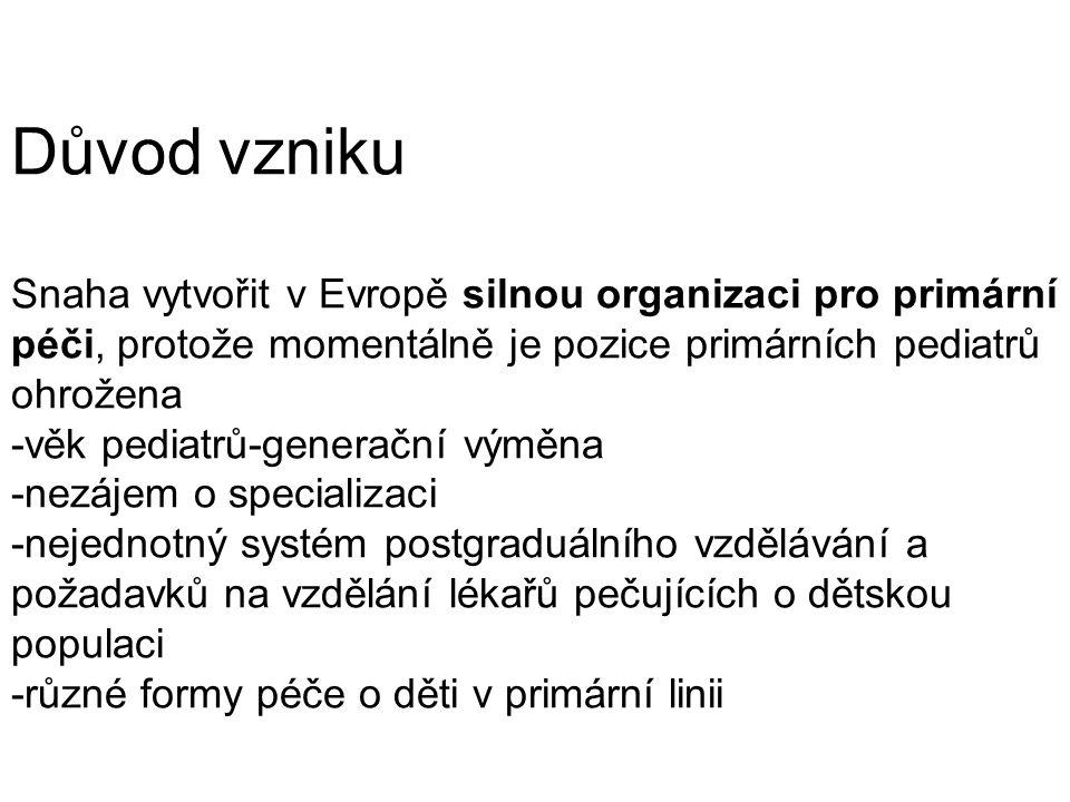 Cílem činnosti ECPCP je: 1.
