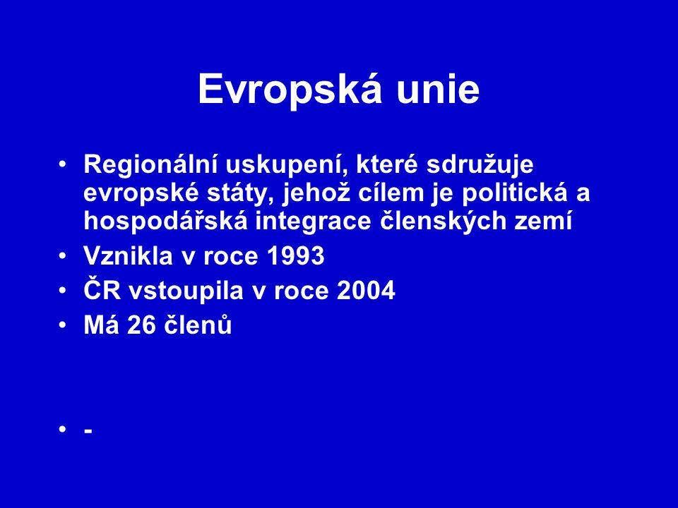 Vznik EU Evropská unie je výsledkem dlouhodobého integračního procesu (Jiří z Poděbrad) Podmínky pro integraci se však utvořily až po 2.