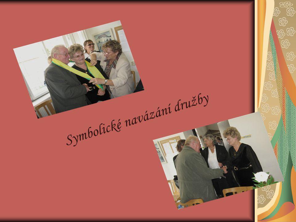 Symbolické navázání družby