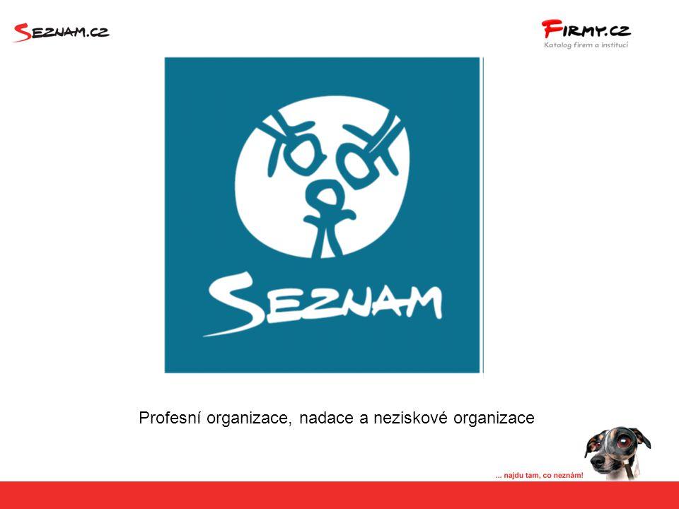 Přímý prolink z detailu společnosti na profesní organizace, nadace a neziskové organizace Členem Profesní organizaceČlen