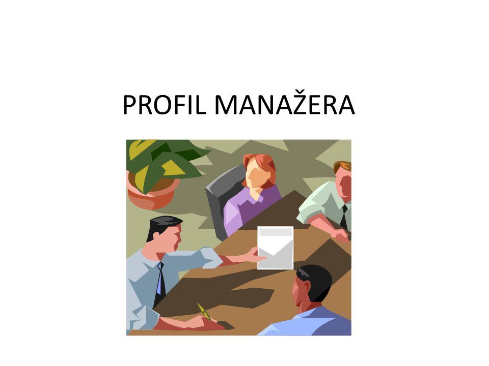 PROFIL MANAŽERA