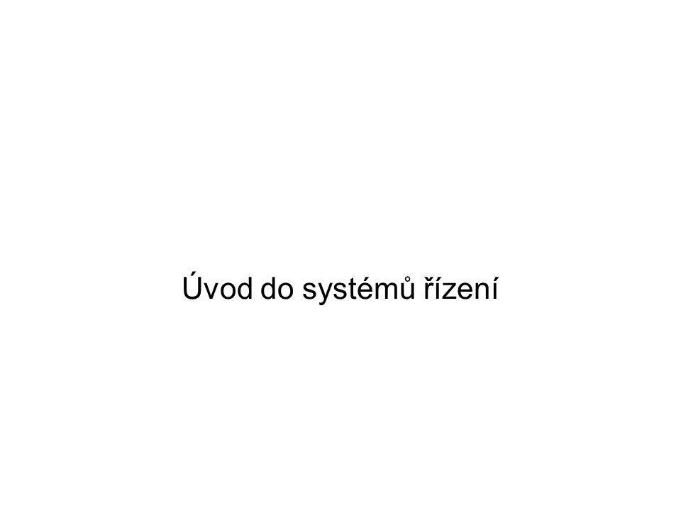 Úvod do systémů řízení