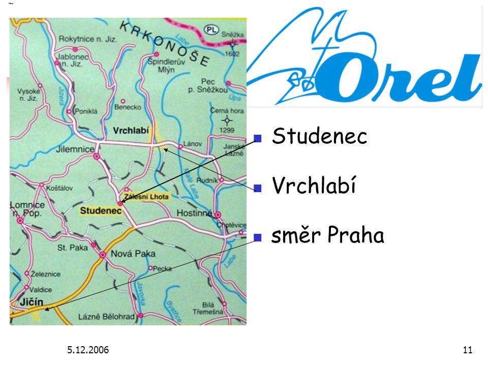 5.12.200611 Studenec Vrchlabí směr Praha