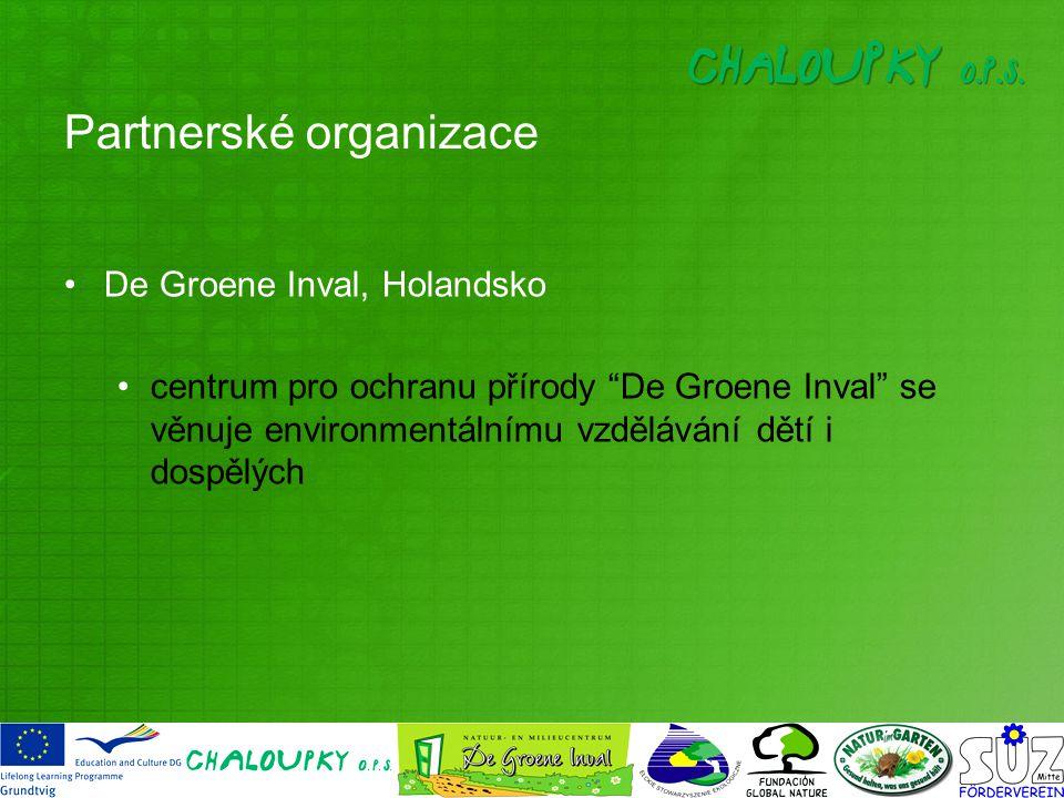 De Groene Inval, Holandsko centrum pro ochranu přírody De Groene Inval se věnuje environmentálnímu vzdělávání dětí i dospělých Partnerské organizace