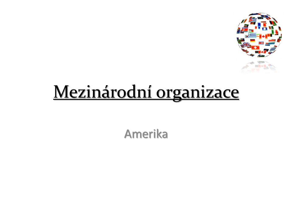 Mezinárodní organizace Amerika
