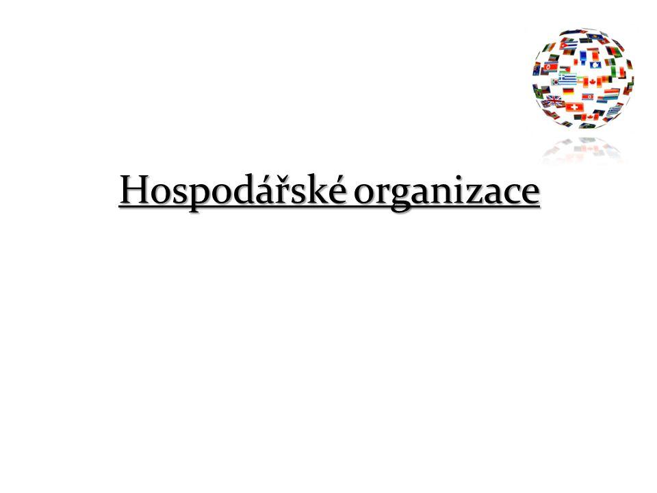 Hospodářské organizace