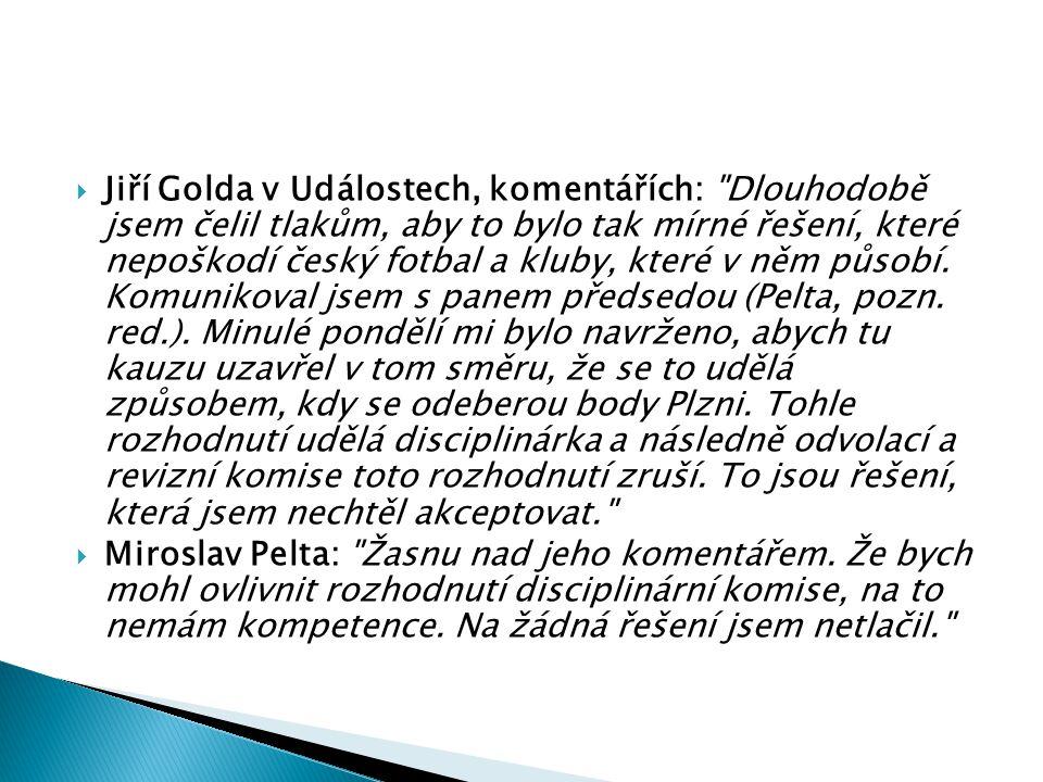 Jiří Golda v Událostech, komentářích: