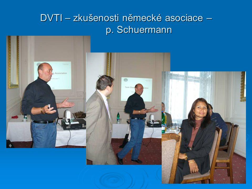DVTI – zkušenosti německé asociace – p. Schuermann