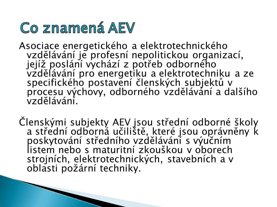 Asociace energetického a elektrotechnického vzdělávání je profesní nepolitickou organizací, jejíž poslání vychází z potřeb odborného vzdělávání pro energetiku a elektrotechniku a ze specifického postavení členských subjektů v procesu výchovy, odborného vzdělávání a dalšího vzdělávání.