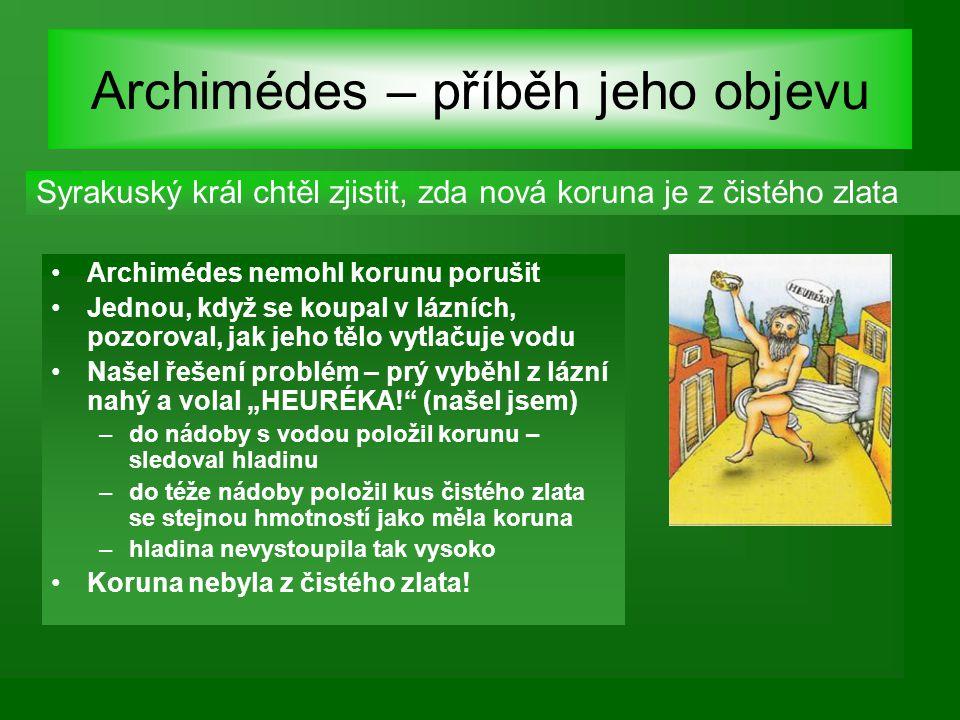 Archimédes 287 – 212 př.n.l.