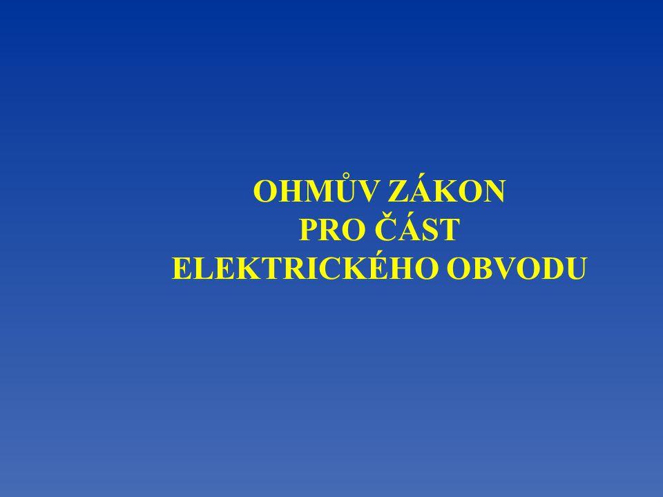 Experiment Elektrický proud I v kovovém vodiči je přímo úměrný elektrickému napětí U mezi konci vodičů.