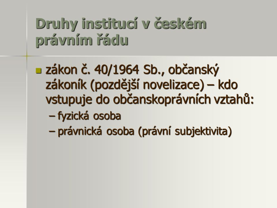 Program ISO usnesení vlády ČR ze dne 9.května 1996 č.