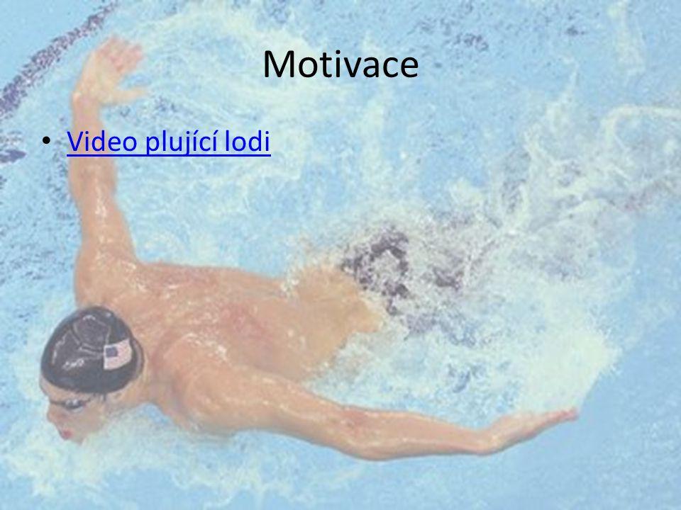 Motivace Video plující lodi