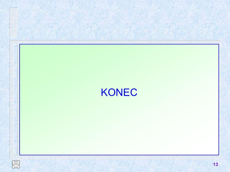 13 KONEC