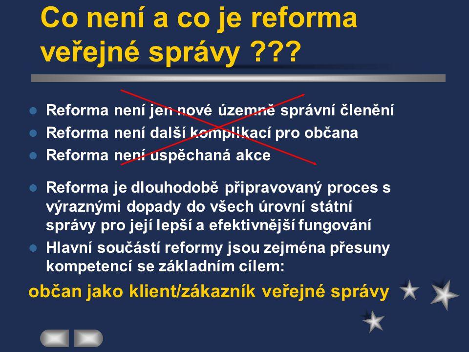 Organizační struktury RVS Úsek pro reformu veřejné správy MV ČR (1998) –odbor reformy veřejné správy –odbor vzdělávání pracovníků veřejné správy –odbo