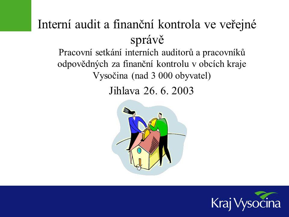 Vymezení systému finanční kontroly § 3 Finanční kontrola je součástí systému finančního řízení, které zabezpečuje hospodaření s veřejnými prostředky, skládá se z těchto podsystémů: systém finanční kontroly vykonávané kontrolními orgány vůči orgánům veřejné správy, žadatelům a příjemcům veřejné finanční podpory, tato kontrola je vždy vykonávaná na základě zákonného zmocnění (pověření), zákon pro ni používá legislativní zkratku veřejnosprávní kontrola