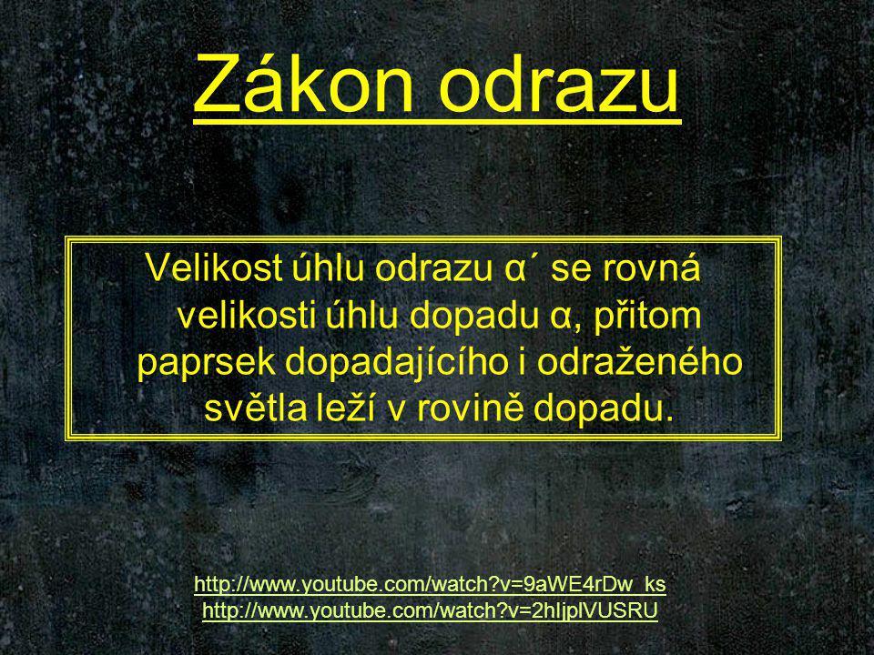 Internetové zdroje: http://www.youtube.com http://fyzweb.cz encyklopedie – wikipediewikipedie www.jreichl.com/fyzika/vyuka/vyuka.htm http://www.ian.cz/index.php http://www.techmania.cz/edutorium/art_exponaty.php?xkat=fyzika&xser=4f 7074696b61h&key=696 http://sedli.mysteria.cz/GS/referat/referat.html http://www.tutorvista.com/content/science/science-ii/human-eye-colourful- world/scattering-light.php