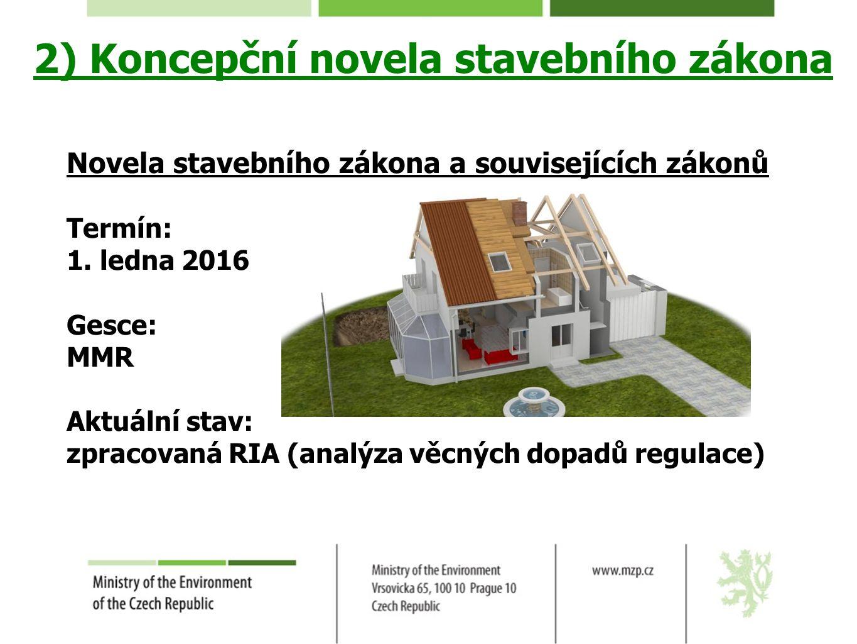 Stavební zákon 2016