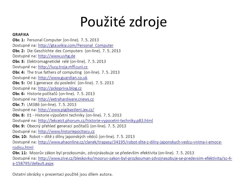 GRAFIKA Obr. 1: Personal Computer (on-line). 7. 5.