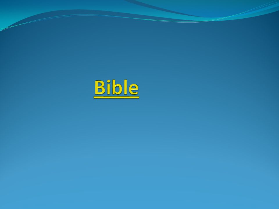 Anotace Žák se seznámí s obsahem Bible ….