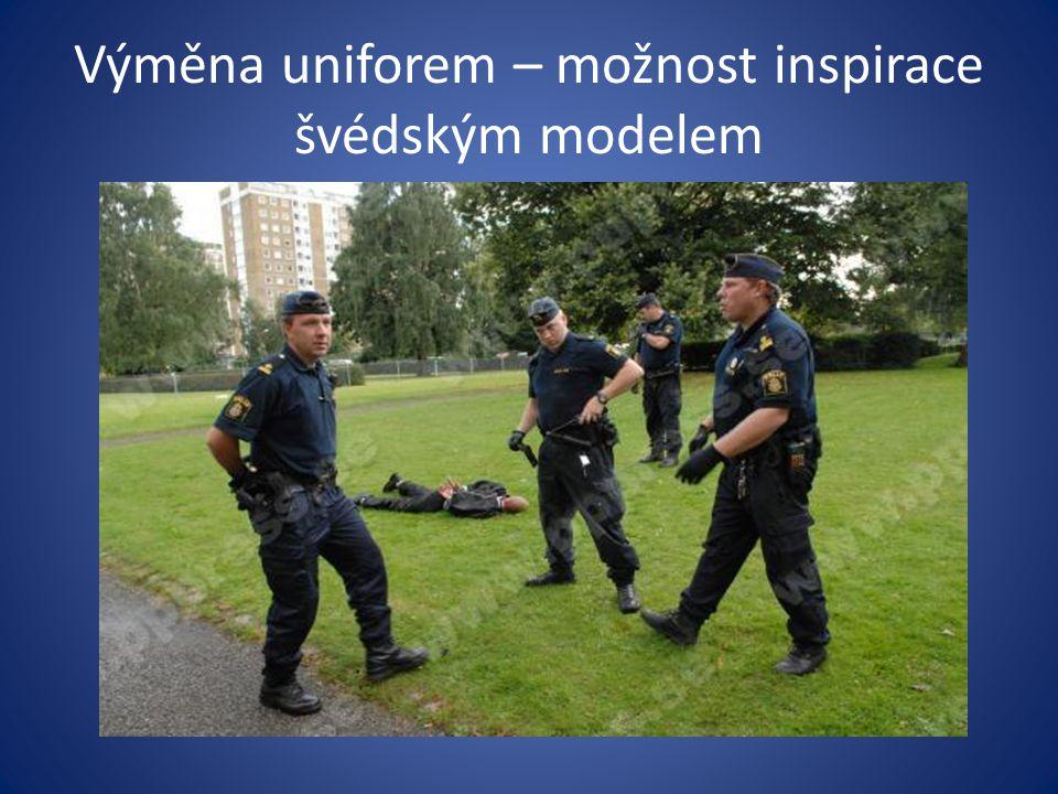 Výměna uniforem – možnost inspirace švédským modelem