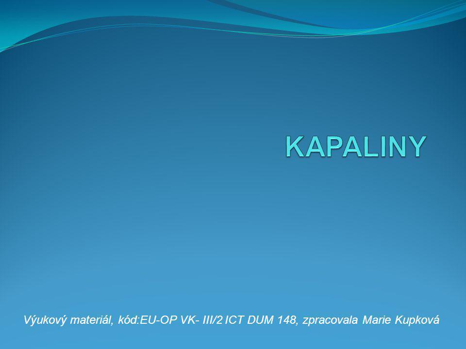 Výukový materiál, kód:EU-OP VK- III/2 ICT DUM 148, zpracovala Marie Kupková