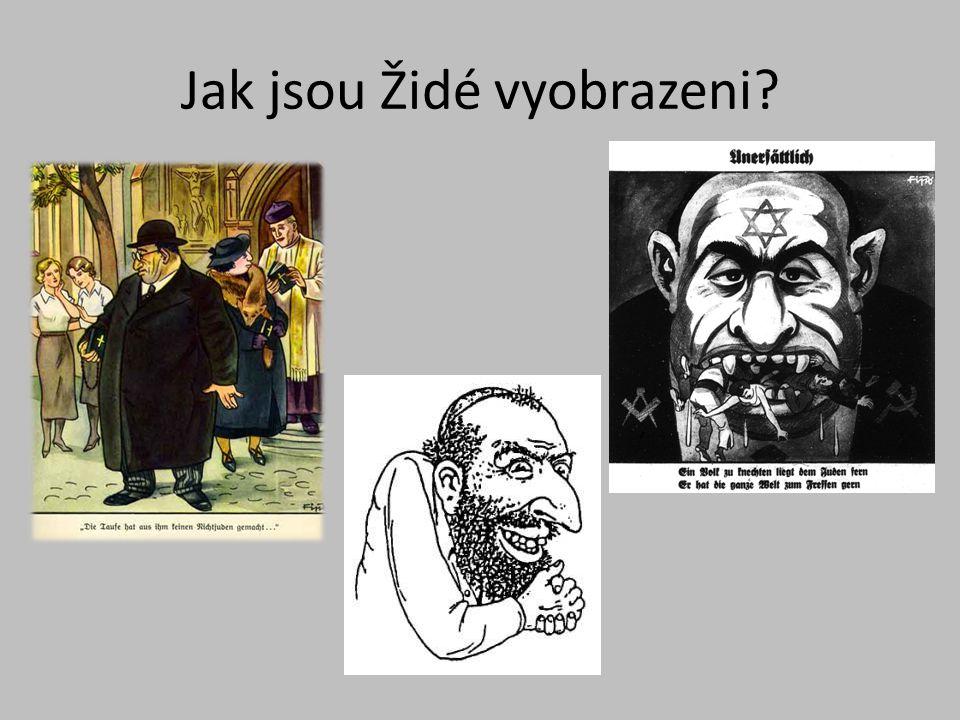 Jak jsou Židé vyobrazeni?
