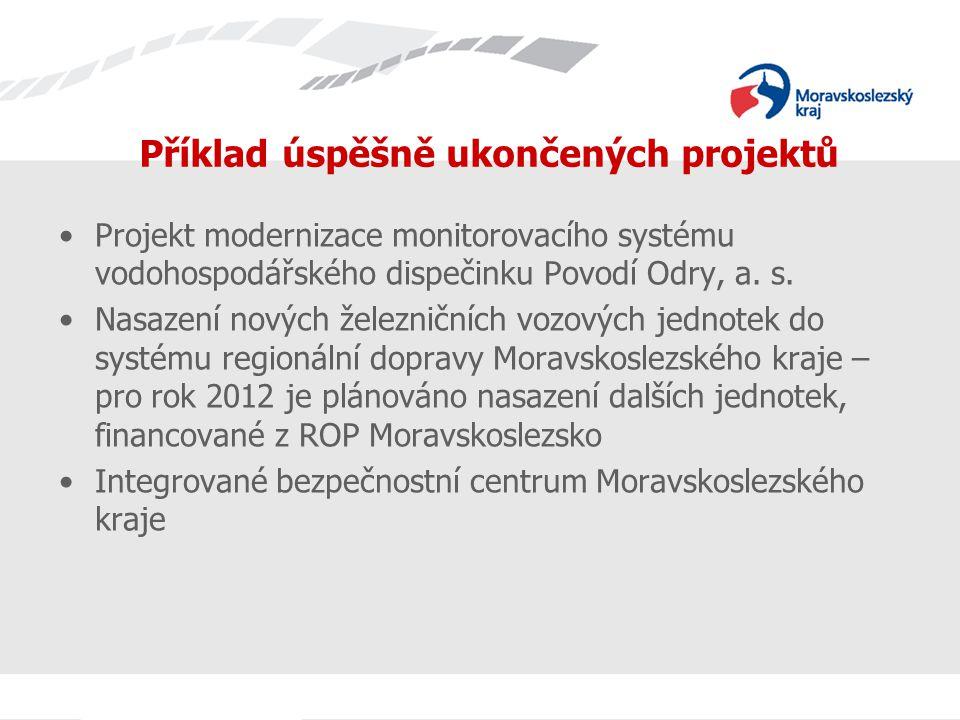 Projekt modernizace monitorovacího systému vodohospodářského dispečinku Povodí Odry, a.