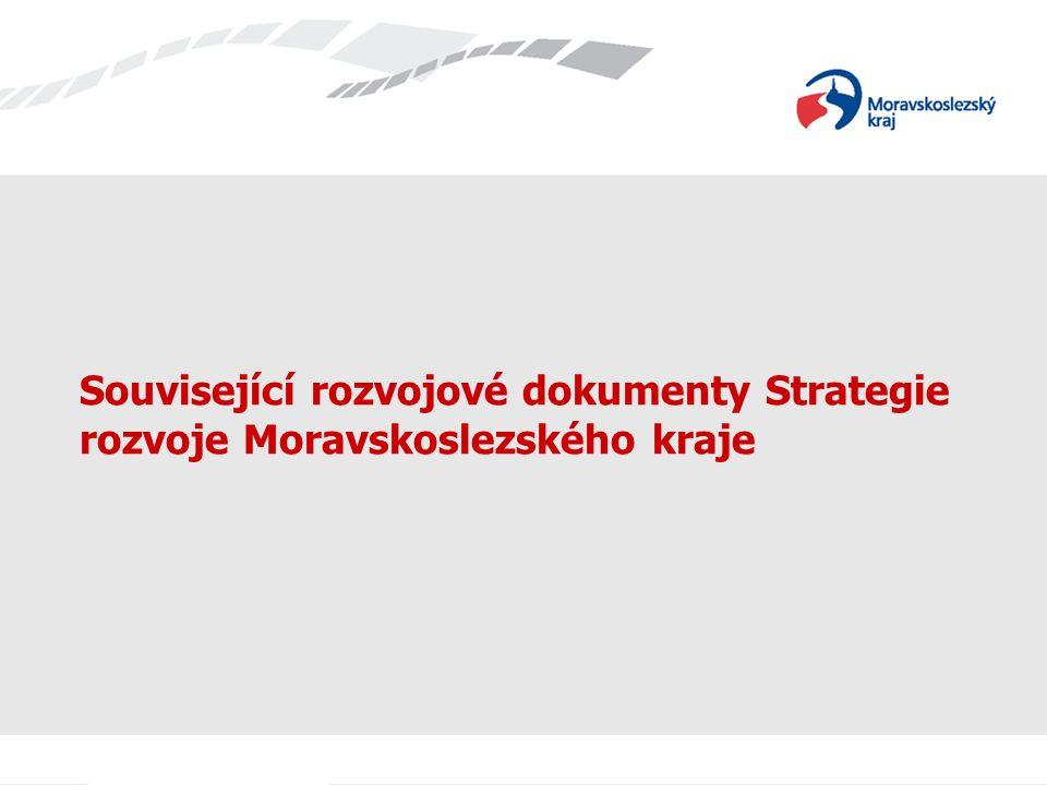 Související rozvojové dokumenty Strategie rozvoje Moravskoslezského kraje
