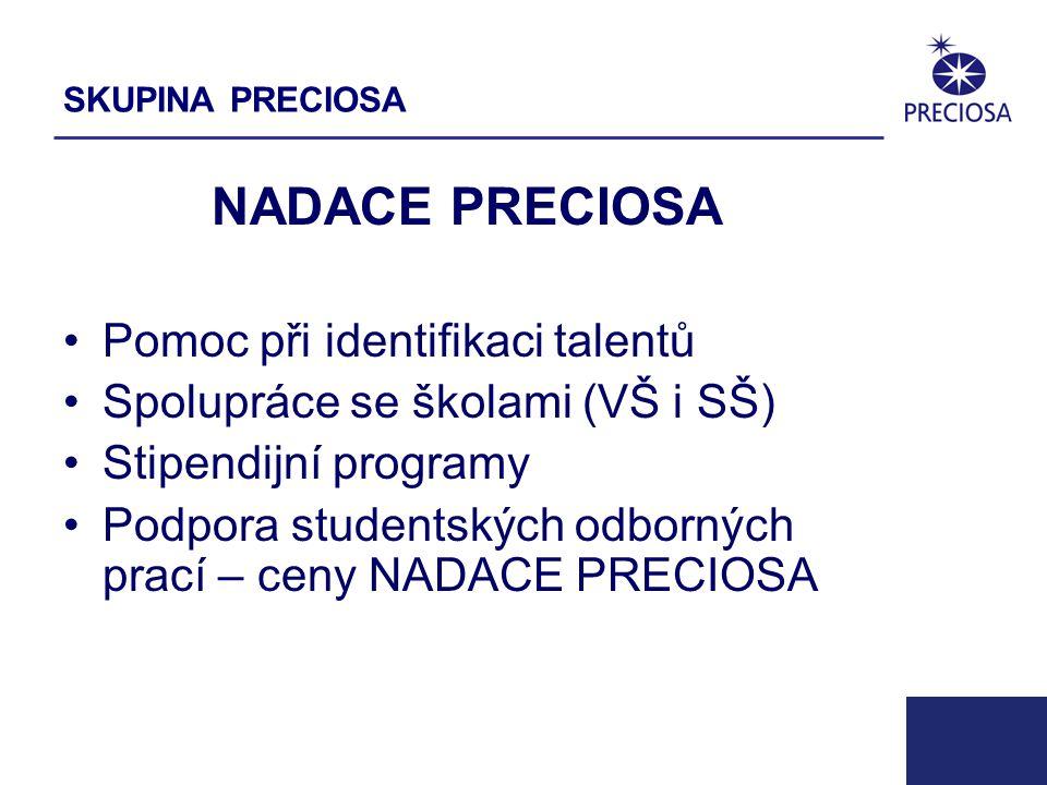 PRECIOSA, a.s.