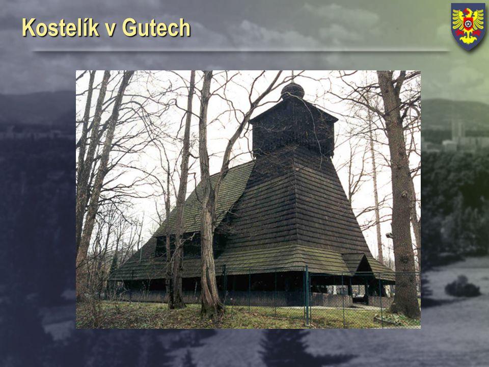 Kostelík v Gutech