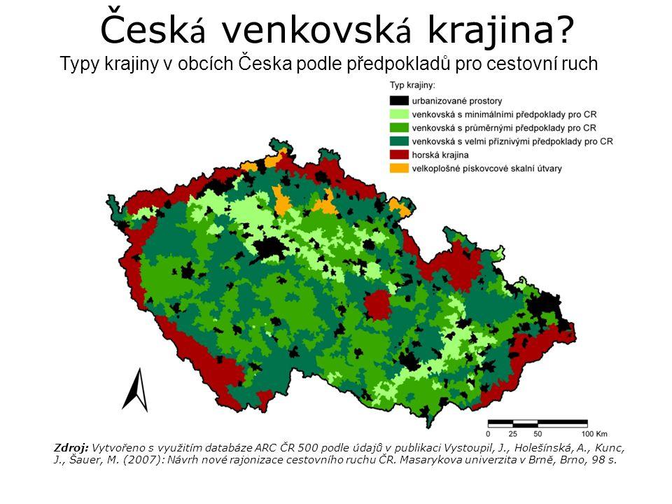Česk á venkovsk á krajina.