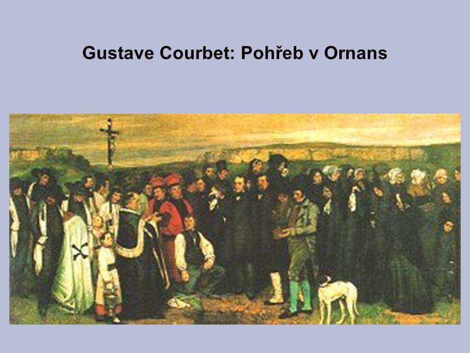 Gustave Courbet: Pohřeb v Ornans