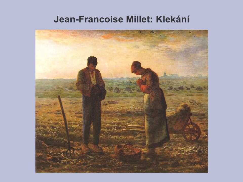 Jean-Francoise Millet: Klekání