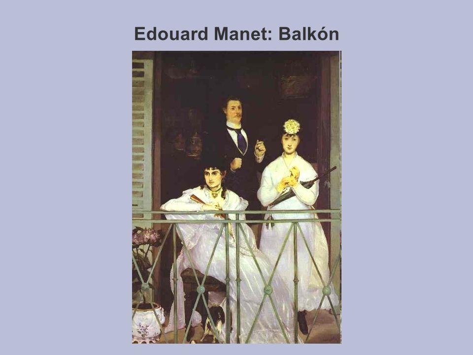 Edouard Manet: Balkón
