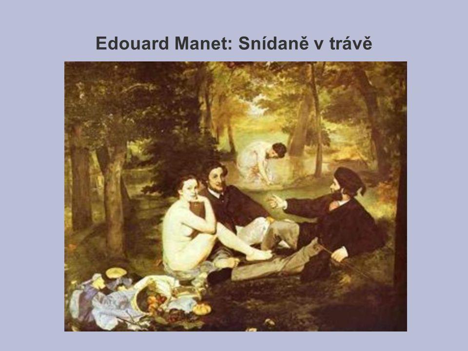Edouard Manet: Snídaně v trávě