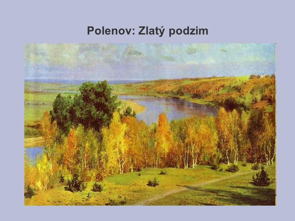 Polenov: Zlatý podzim
