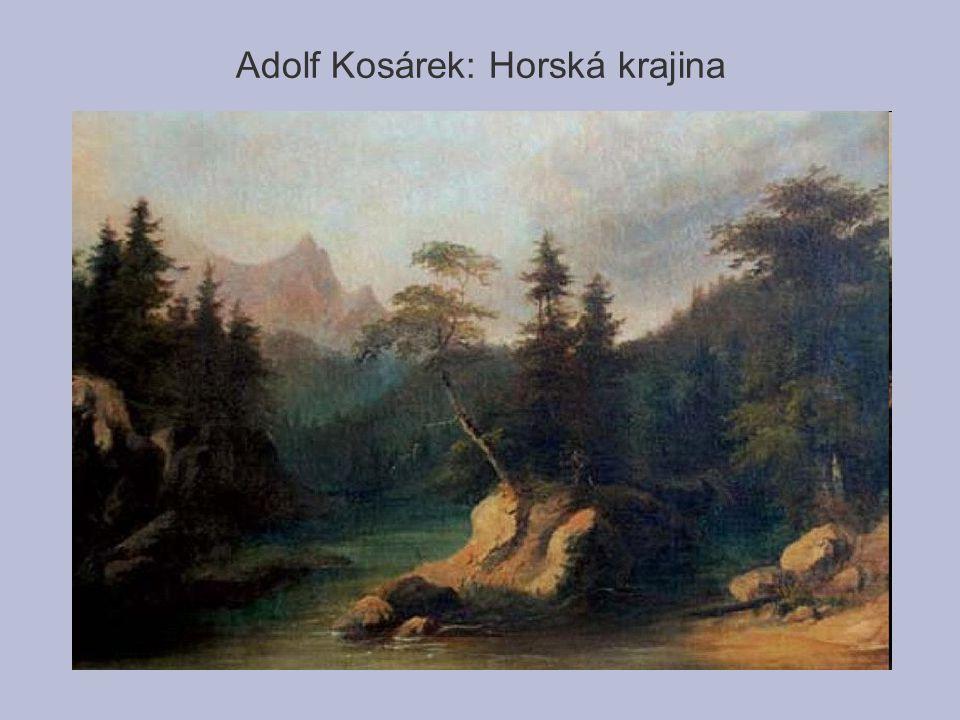 Adolf Kosárek: Horská krajina