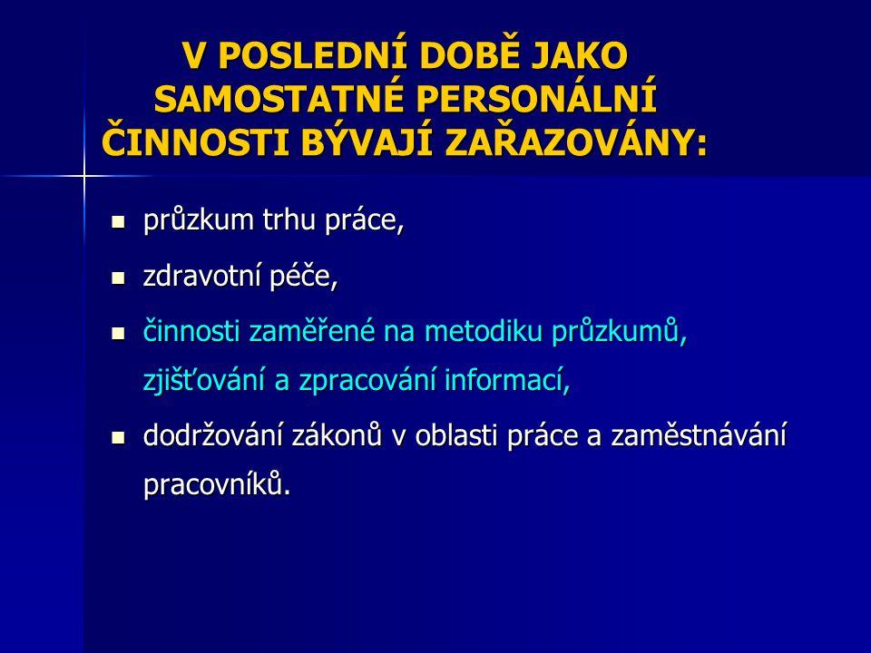 """Personální strategie Magistrátu města Olomouce analýza pracovních míst (specifikace pracovního místa), plán náboru a výběru zaměstnanců (metodiky výběrových řízení), plán motivace zaměstnanců (průzkum organizačního klimatu a motivace), plán systému odměňování, plán vzdělávání a rozvoje zaměstnanců (""""Koncepce vzdělávání a rozvoje zaměstnanců MMOl ), plán hodnocení pracovníků (proces orientace, strategie hodnocení pracovníků), plánování osobního rozvoje a kariéry (plán vzdělávání a rozvoje), plánování sociálního rozvoje (sociální politika), plán změny organizační kultury (např."""