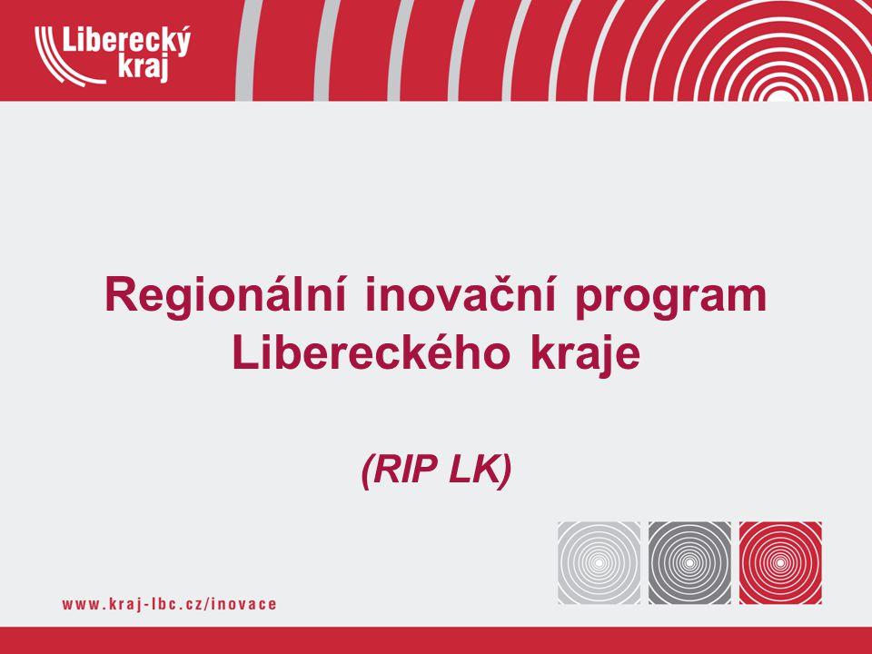 Regionální inovační program Libereckého kraje (RIP LK)