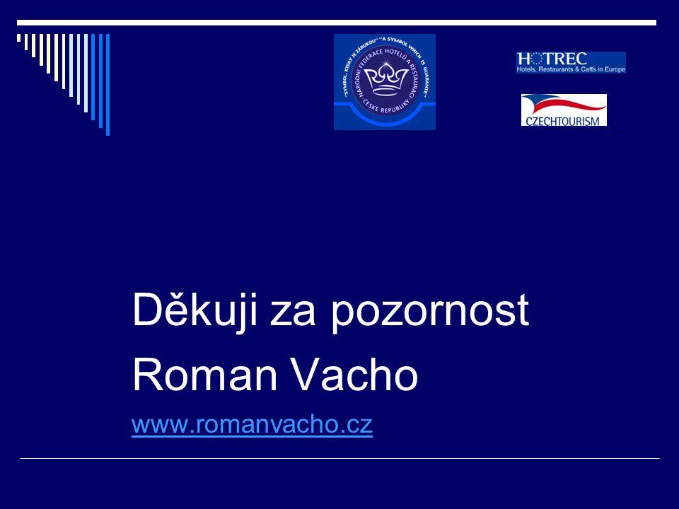 Děkuji za pozornost Roman Vacho www.romanvacho.cz