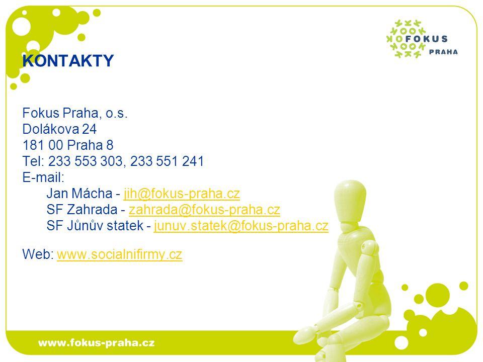 KONTAKTY Fokus Praha, o.s.
