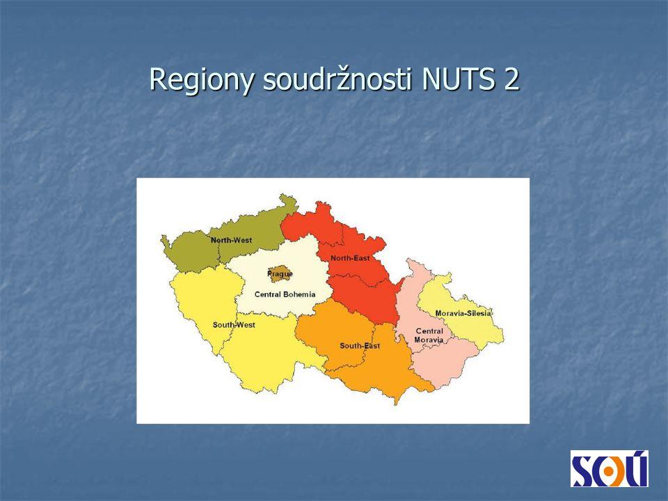 Regiony soudržnosti NUTS 2