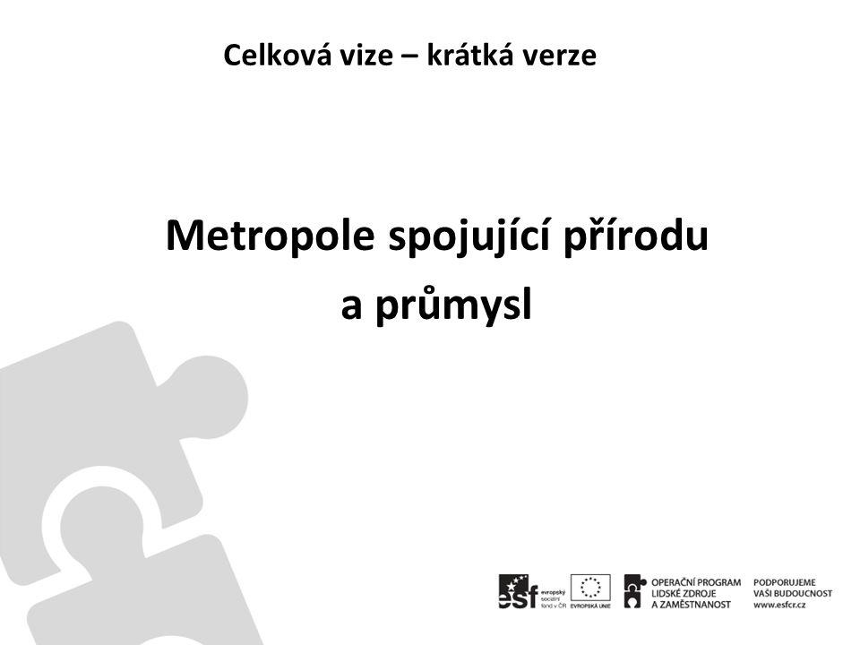 Celková vize – krátká verze Metropole spojující přírodu a průmysl