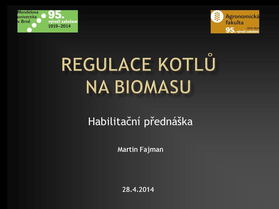 Habilitační přednáška Martin Fajman 28.4.2014