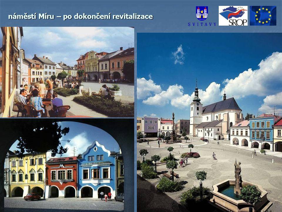 náměstí Míru – po dokončení revitalizace