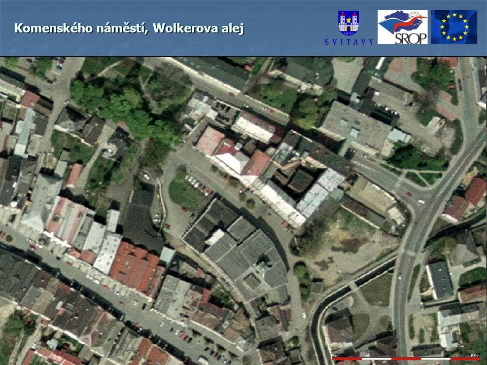 Komenského náměstí, Wolkerova alej