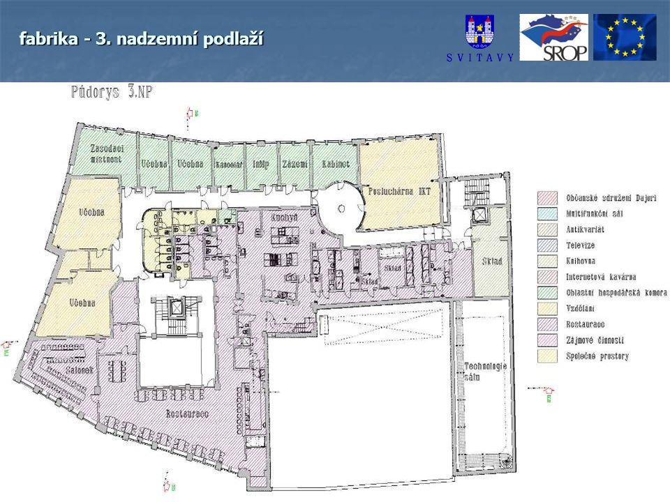 fabrika - 3. nadzemní podlaží