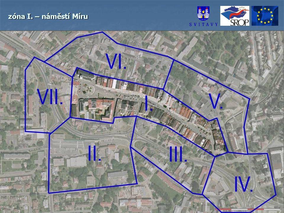 zóna I. – náměstí Míru