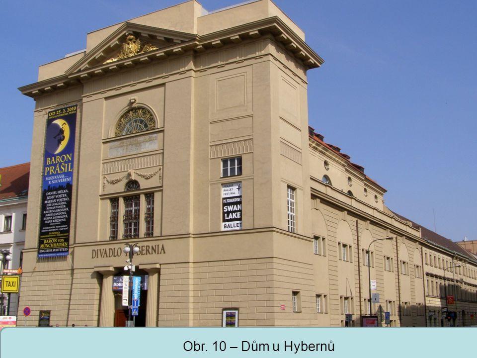 Střední škola Oselce Obr. 10 – Dům u Hybernů